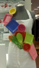 Home Department Dishes Colorful Fun Utensils Neon Primary Colors