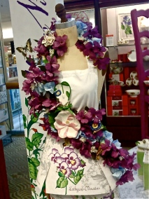 Edie Rose Collection Modern Vintage Flowers Butterfly Meadows Hollywood Los Angeles Apron Sherman Oaks