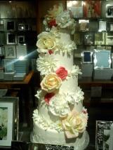 Bridal Accessories Cake Flowers Registry Silver Memories