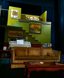 August Osage County Ophelia's Jump Productions La Verne Claremont California Los Angeles Theatre Set Dressing Props Prop Design