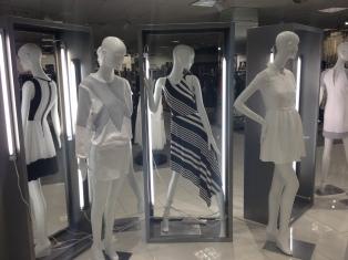 Cedric Wright, White Light Stripes Fashion Impulse Visual Merchandising