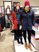 Cedric Wright, Helly Hansen Outerwear Scarf Rainwear Seattle Fashion Display Visual Merchandising