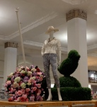 Cedric Wright, Floral Parasol Topiary Leggings Garden Party Seattle Fashion Visual Merchandising